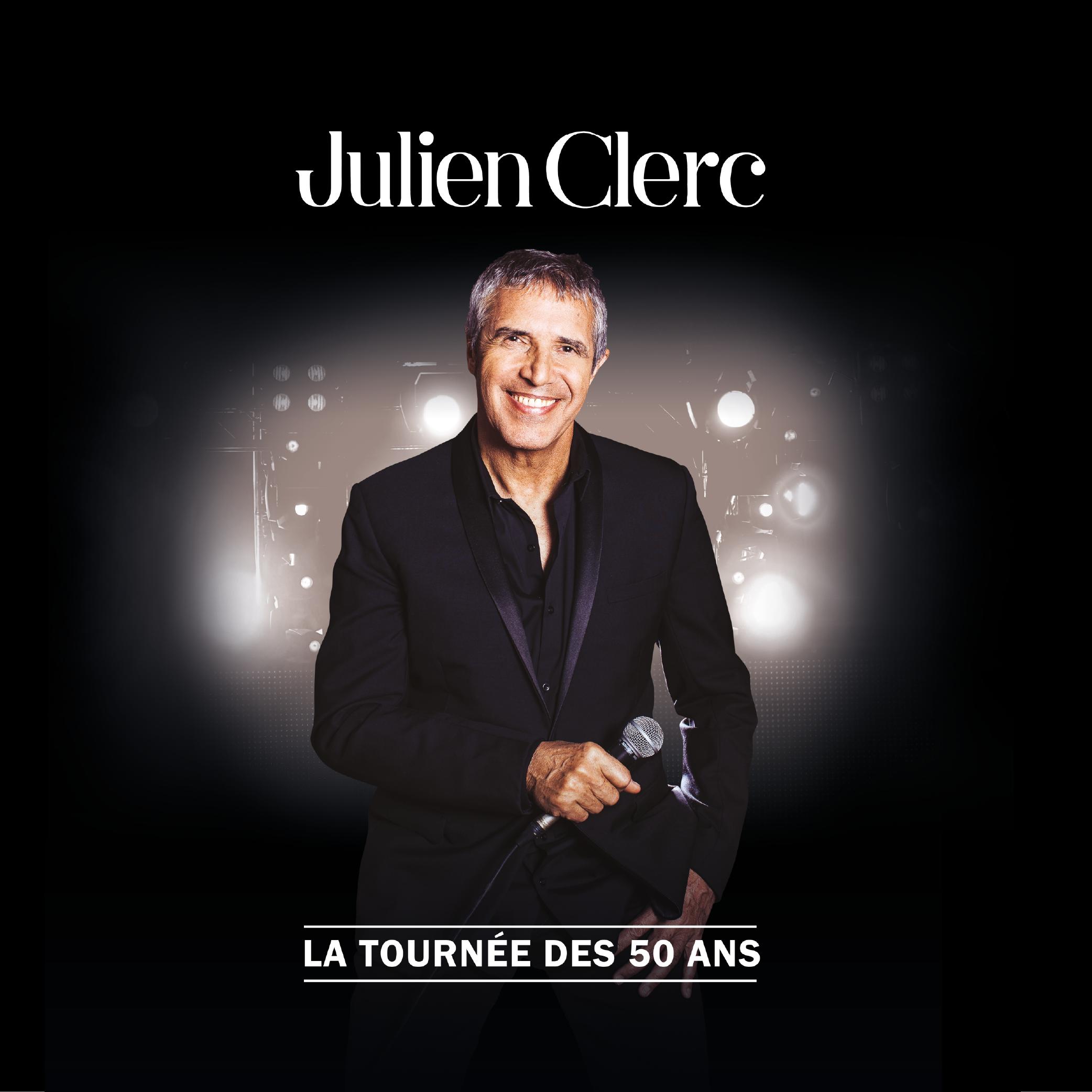 Du Rire au Live : Julien Clerc